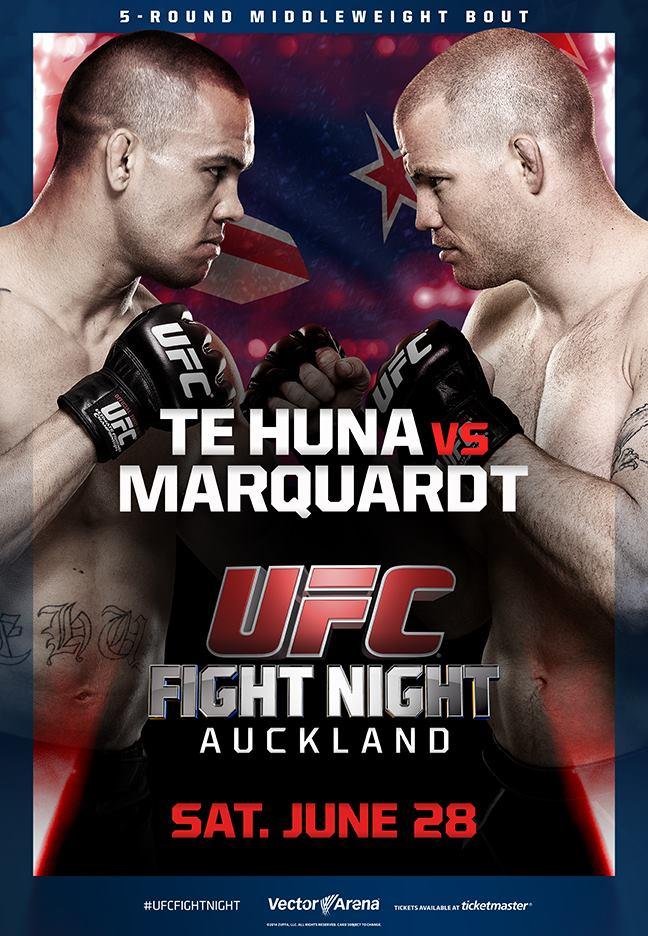 UFC Fight Night: Te Huna vs Marquardt 1