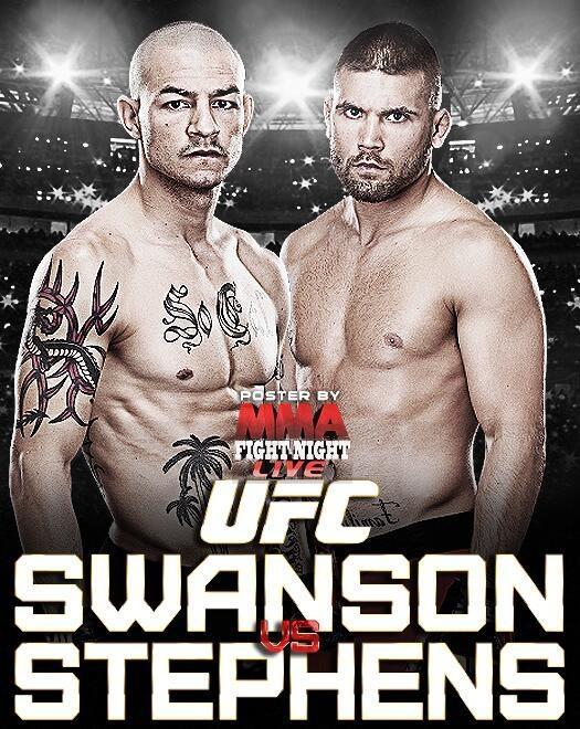 UFC Fight Night: Swanson vs. Stephens 1
