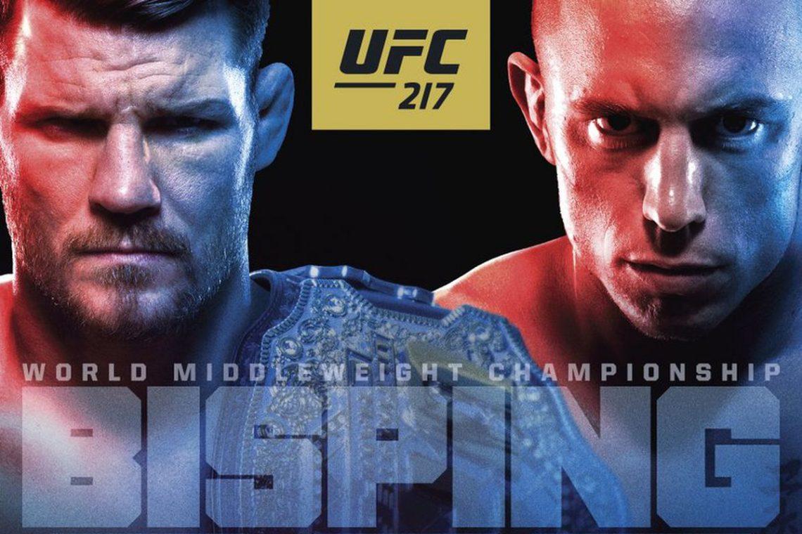 Risultati UFC 217: Bisping vs. St-Pierre 1