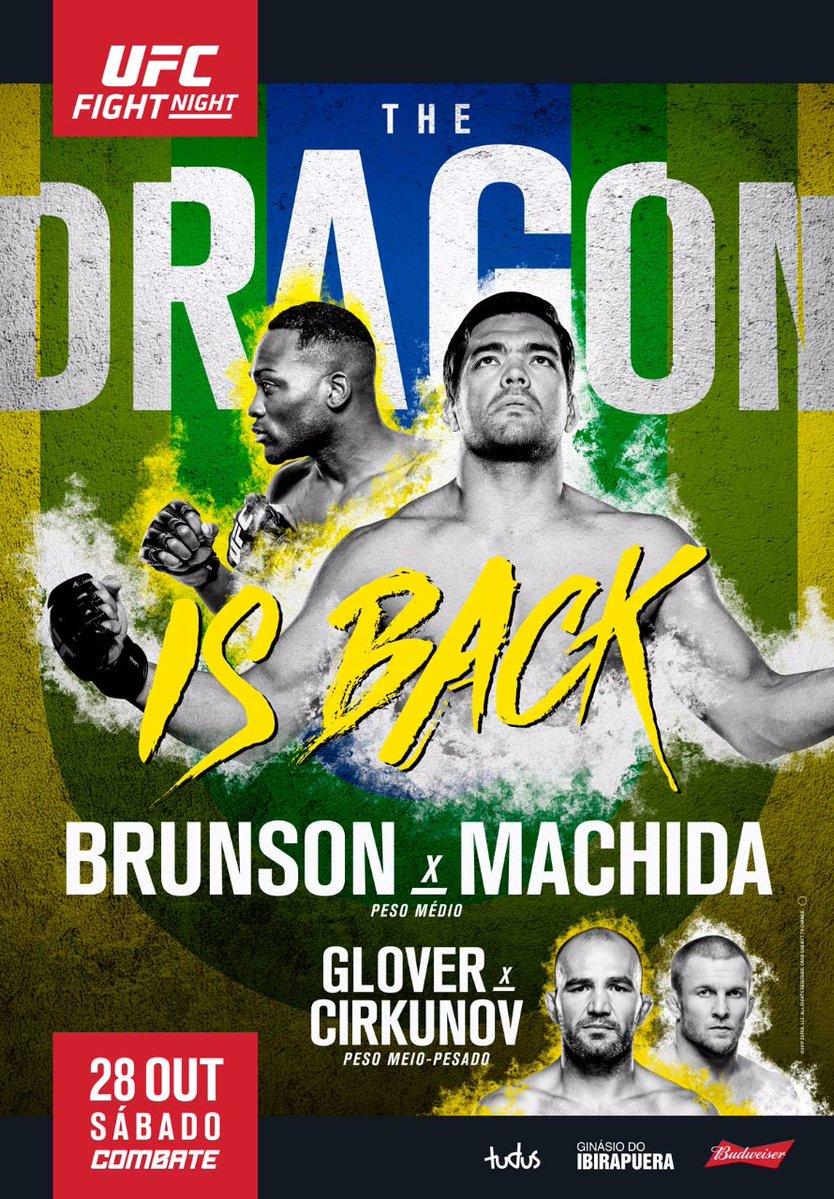 Risultati UFC Fight Night: Brunson vs. Machida 1