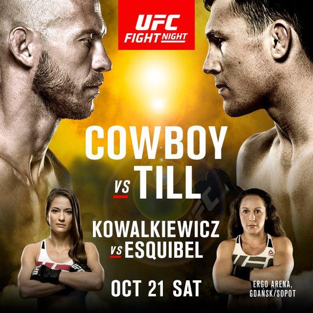 Risultati UFC Polonia 2017 (Cerrone vs Till) 1