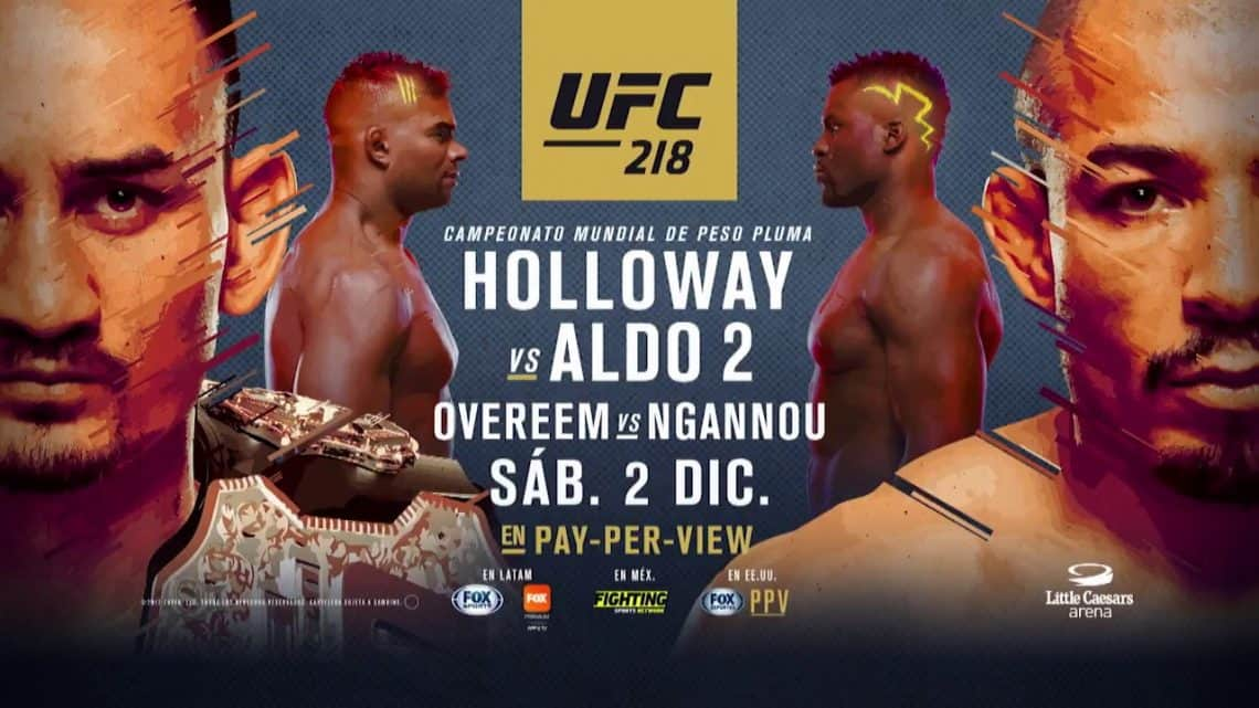 UFC 218: Holloway vs. Aldo 2 1
