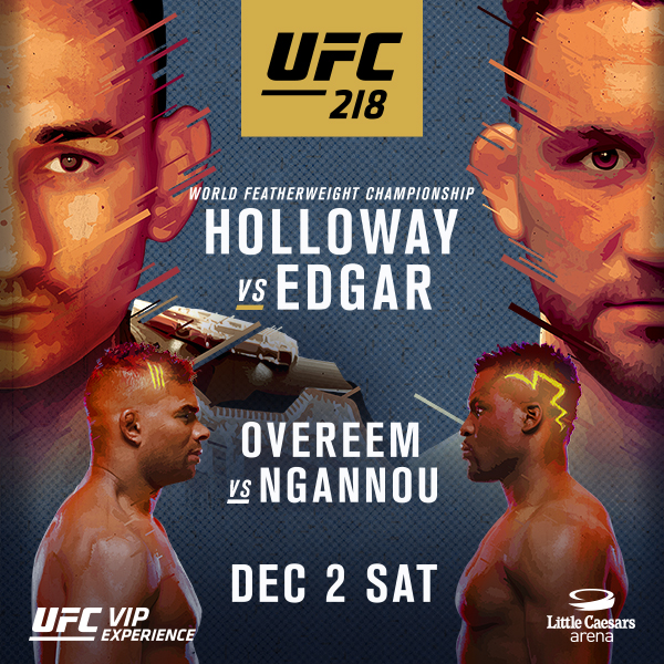 Risultati UFC 218: Holloway vs. Aldo 2 1