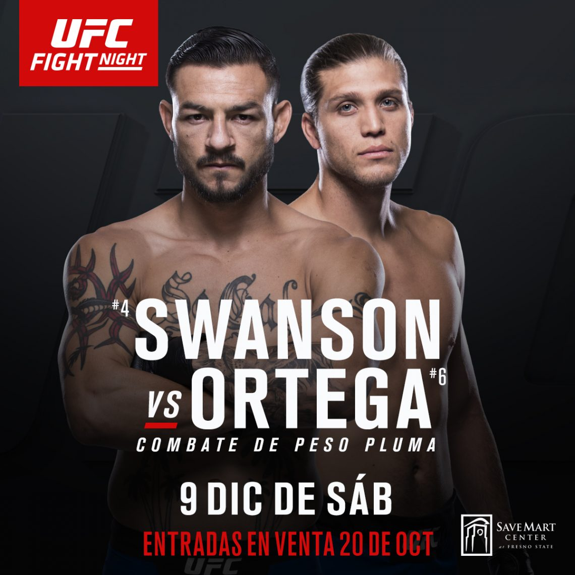 UFC Fight Night: Swanson vs. Ortega 1