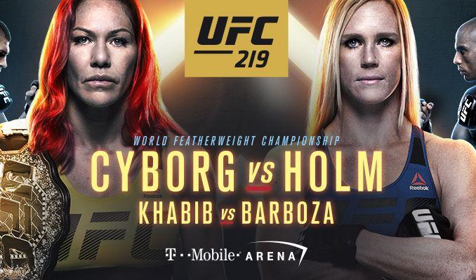 RISULTATI UFC219 1