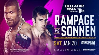 Bellator 192: Rampage vs. Sonnen 1