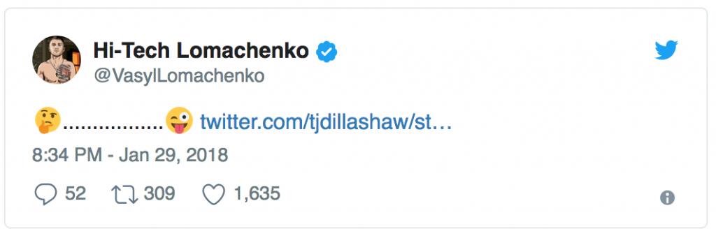 Lomachenko vs Dillashaw: ci stanno trollando oppure... 4