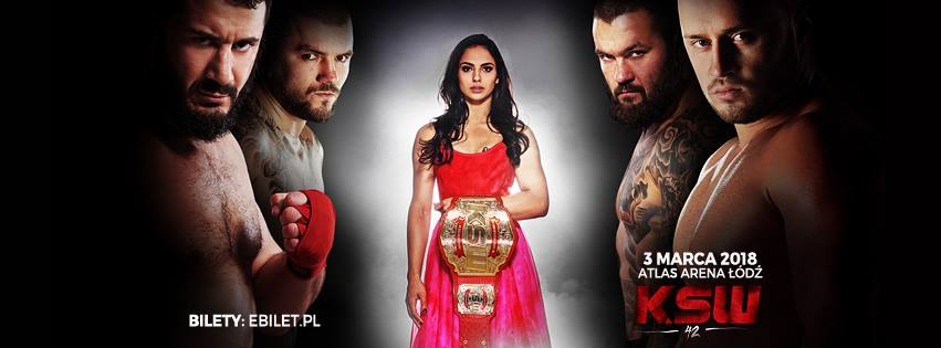KSW 42 - Main-event: Narkun vs Khalidov. Presentazione della fight-card. 1