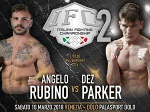 IFC 2 Sabato 10 Marzo a Dolo (Venezia): Penini vs Aliu per la Cintura Pesi Medi. 4