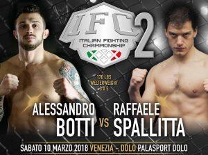 IFC 2 Sabato 10 Marzo a Dolo (Venezia): Penini vs Aliu per la Cintura Pesi Medi. 5