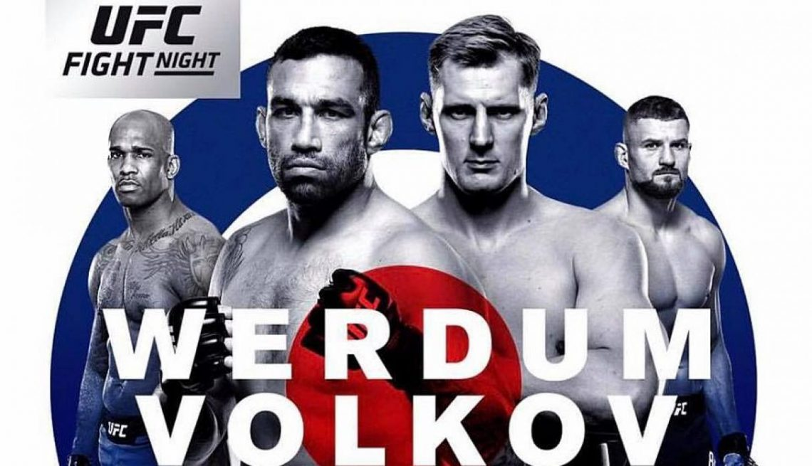 RISULTATI UFC FIGHT NIGHT - WERDUM VS VOLKOV 1
