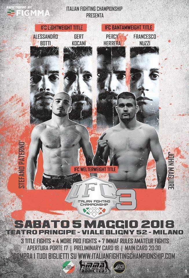 ICF 3: La notte dei campioni @Teatro Principe Milano (era IFC 3 ) 1
