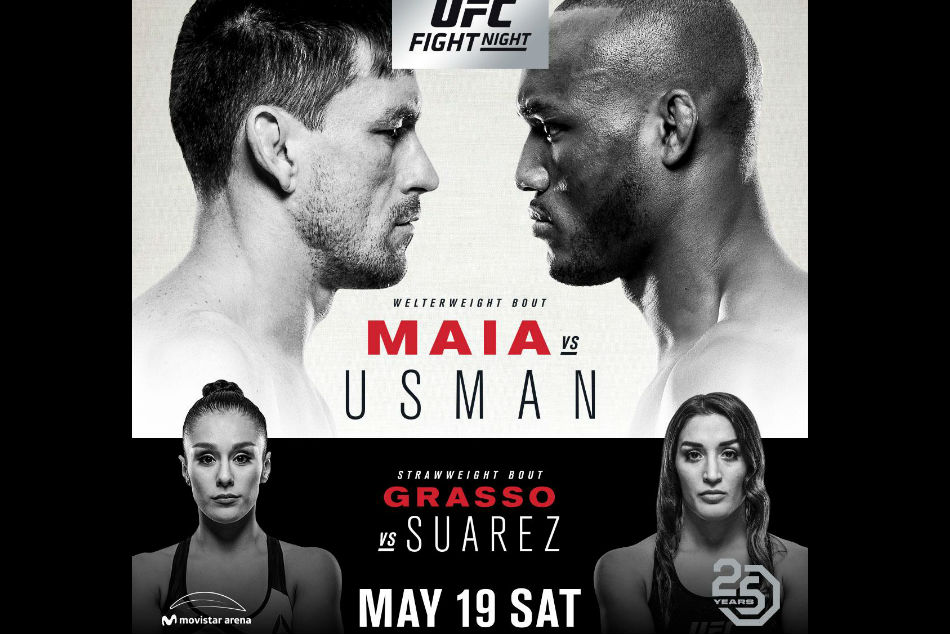 UFC Fight Night: Maia vs. Usman 1