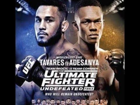 Risultati The Ultimate Fighter 27 Finale - con Alessio di Chirico vs Julian Marquez 2