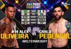 Risultati UFC Fight Night 137 (Oliveira vs Pedersoli) 1