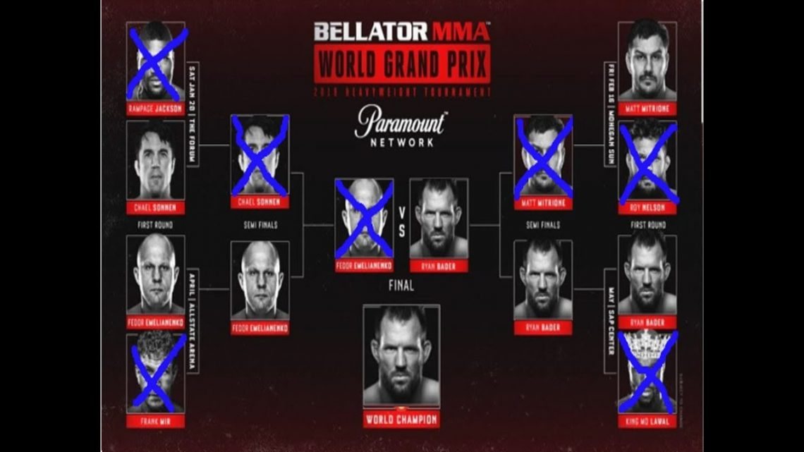 BELLATOR 207+208: BADER VS MITRIONE & FEDOR VS SONNEN 1