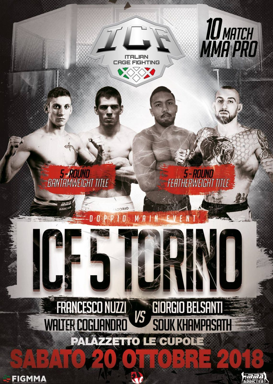 Italian Cage Fighting 5: La Card 1