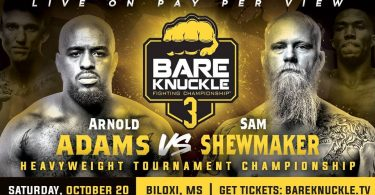 BARE KNUCKLE BOXING FIGHTING CHAMPIONSHIP 3: Adams vs Shewmaker 6