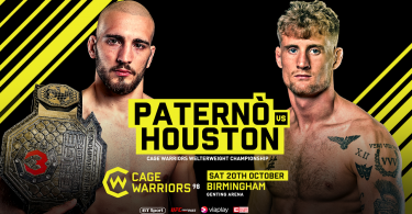 Risultati Cage Warriors 98: Paternò vs Houston (aggiornamento con Video e cartellino) 8