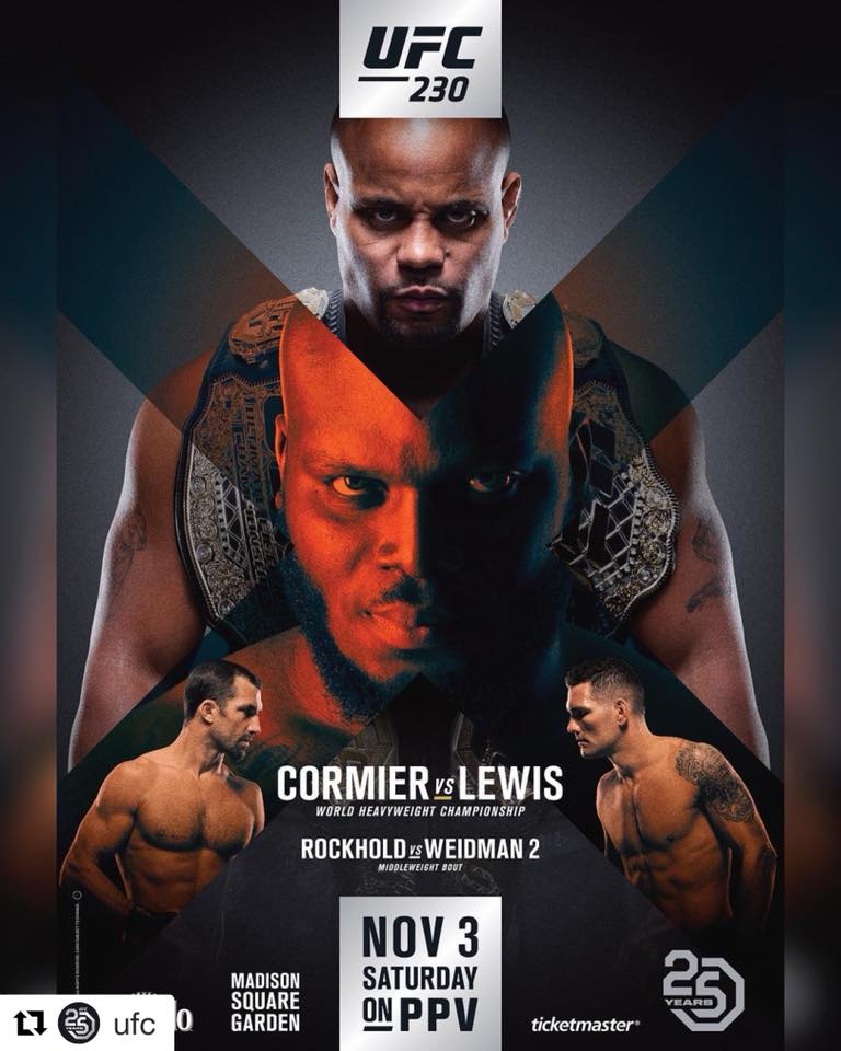 RISULTATI UFC 230 1