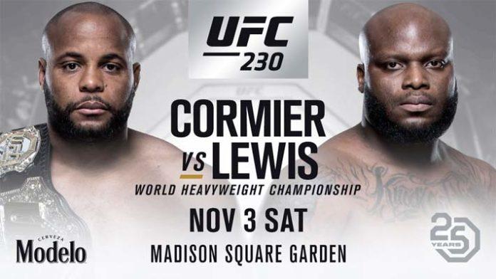 UFC 230 : CORMIER VS LEWIS 1