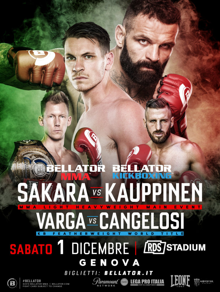 Bellator Genova: Sakara vs Kauppinen 1