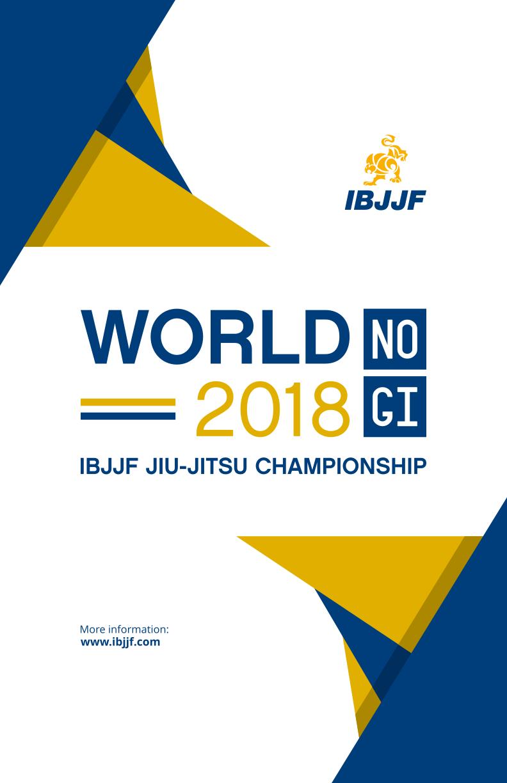 Commenti al Mondiale 2018 NoGi 1