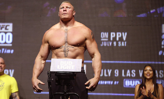 IL TEST DI LESNAR SCOMPARE DAL DATABASE USADA 1