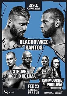 UFC Fight Night: Blachowicz vs. Santos 1