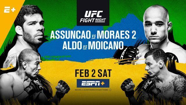 RISULTATI UFC FIGHT NIGHT 144: ASSUNCAO VS MORAES 1
