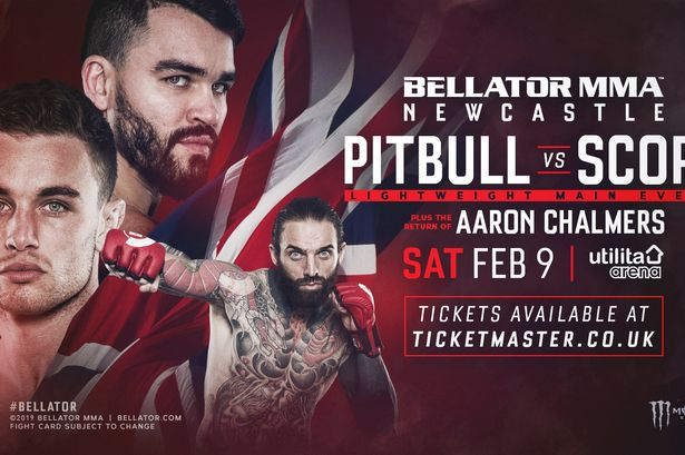 BELLATOR NEWCASTLE: PITBULL VS. SCOPE 1