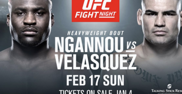 UFC ON ESPN 1: VELASQUEZ VS NGANNOU 4