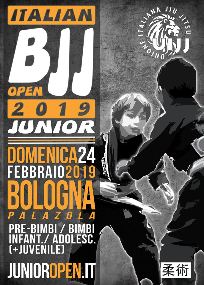 Junior Italian BJJ Open 1