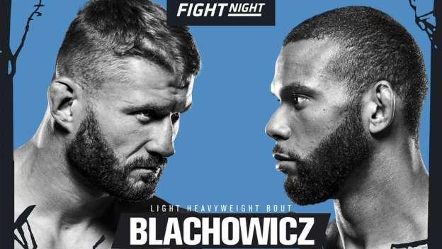 UFC PRAGA: BLACHOWICZ VS SANTOS + CARLO PEDERSOLI JR 1