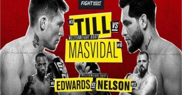 Risultati UFC Fight Night: Till vs. Masvidal 12