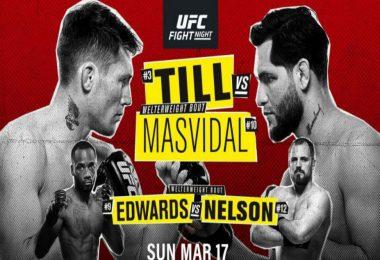 Risultati UFC Fight Night: Till vs. Masvidal 2