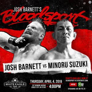 Josh Barnett's BloodSport 01: Non ho capito cosa sia, ma è il mio evento preferito 2