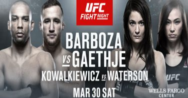RISULTATI UFC ON ESPN 2: BARBOZA VS GAETHJE 7