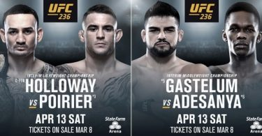 UFC 236: HOLLOWAY VS. POIRIER 6