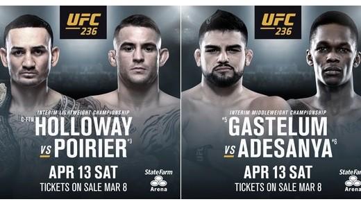 UFC 236: HOLLOWAY VS. POIRIER 1
