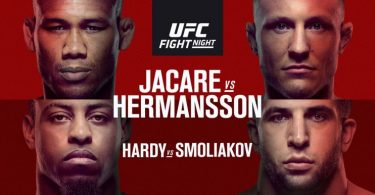 UFC FIGHT NIGHT: JACARE VS HERMANSSON 1