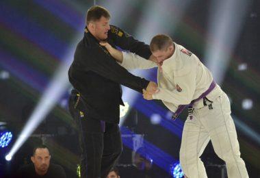 L'EX CAMPIONE UFC STIPE MIOCIC HA LOTTATO AD UN EVENTO DI BJJ 12
