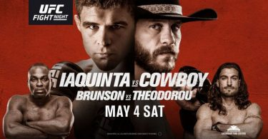 UFC FIGHT NIGHT: CERRONE VS. IAQUINTA 8