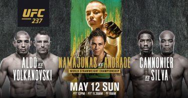 UFC 237 : NAMAJUNAS VS. ANDRADE 18