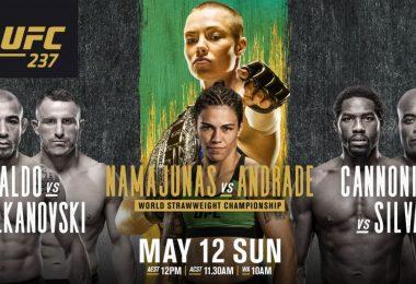 UFC 237 : NAMAJUNAS VS. ANDRADE 13