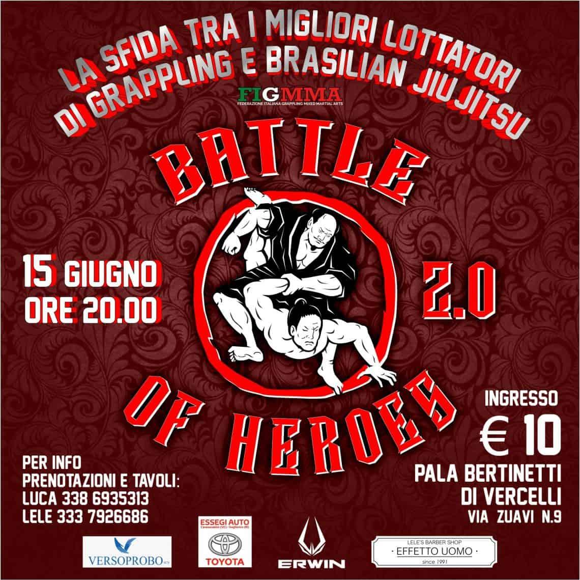 Battle of Heroes 2 (Grappling PRO Vercelli) 1