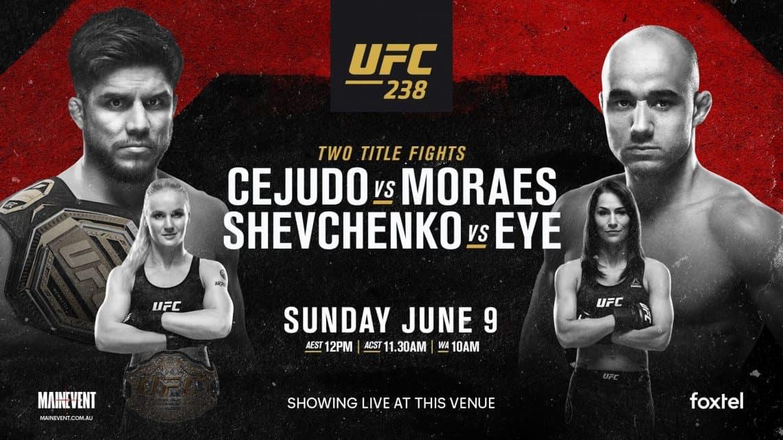 UFC 238 : CEJUDO VS. MORAES 1