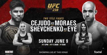 UFC 238 : CEJUDO VS. MORAES 10