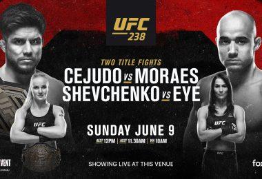 UFC 238 : CEJUDO VS. MORAES 7