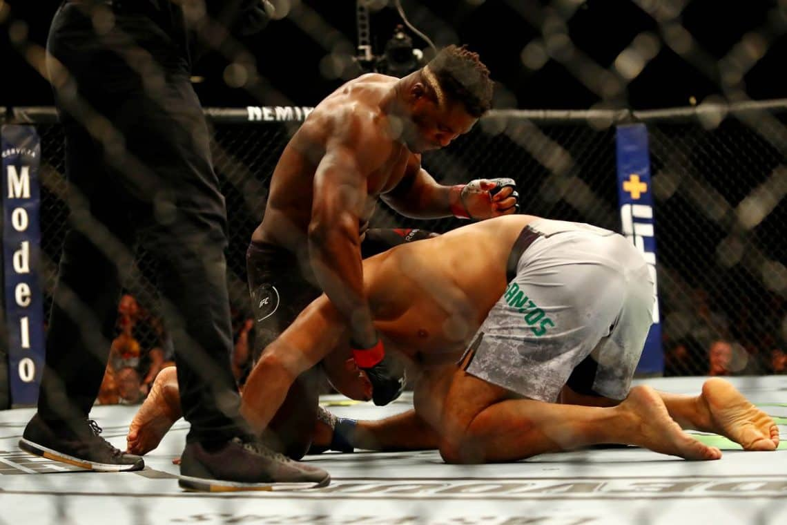 RISULTATI UFC ON ESPN 3: NGANNOU VS. DOS SANTOS 1